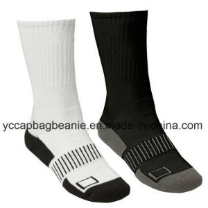 Wholesale Custom Cushion Sport Volleyball Socks pictures & photos