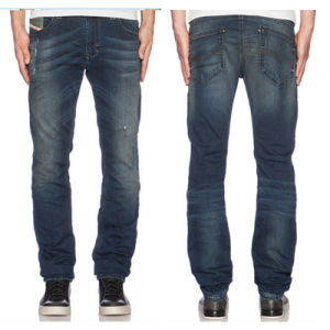 Factory OEM Men′s Fashion Hudson Denim Blue Brand Jean Pants pictures & photos