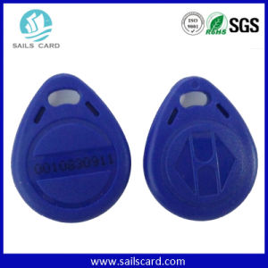 Top Quality Custom Logo 13.56MHz RFID Key Tag pictures & photos