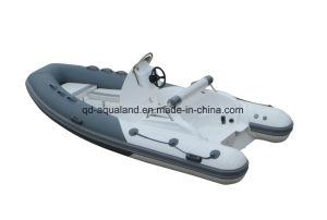 Aqualand 14feet 4.3m Rigid Inflatable Boat/Rib Motor Boat (RIB430C) pictures & photos