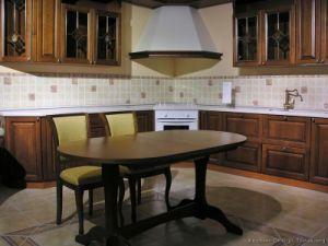 Dark Walnut Kitchen Cabinets (dw23) pictures & photos