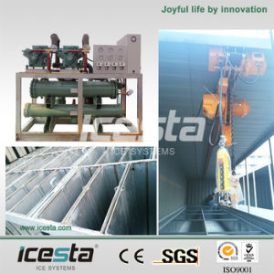 3ton/24h Containerized Newest Design Energy Saving Block Ice Machine for Ice Factory in Africa pictures & photos