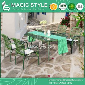 New Design Wicker Chair Stackable Chair Rattan Dining Set Garden Chair Outdoor Dining Set Patio Furniture pictures & photos