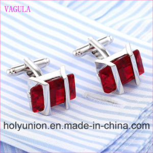 VAGULA Quality Hot Sales Super Quality Silver Gemelos Cuff Links   (325) pictures & photos