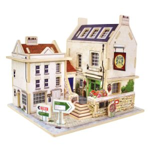Wood Collectibles Toy for Global Houses-Britain Bar pictures & photos