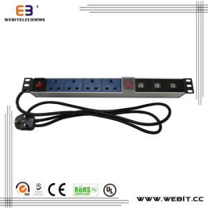 Germany UK Multi USA Series of PDU with USB Outlet pictures & photos