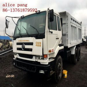 Used 6X4 Japan Dump Truck of 30ton Nissan Truck (12503cc-engine) pictures & photos