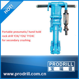 Y6, Y8, Y10, Y20, Y24, Y26, Y28, Ty24c Hand Held Pneumatic Rock Drill pictures & photos