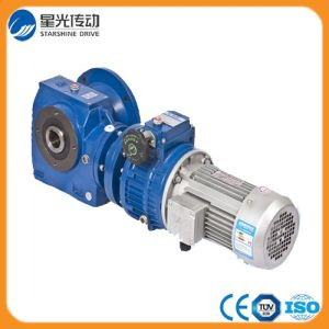S97-Y180L4-22-17.05 Double Stage Helical Worm Gearbox pictures & photos