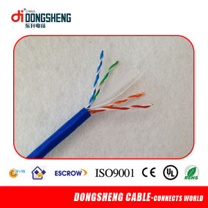 CAT6 UTP Category 6 Network Cable with Ce/ETL/RoHS/ISO9001 pictures & photos