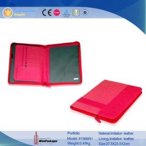 Documents Professional Business Convenient Leather Women Portfolio Folder (1668R1) pictures & photos