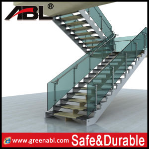 Stainless Steel Staricase Glass Railing (DD162) pictures & photos