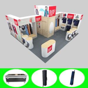 Design Clothing Custom Portable Modular Trade Show Exhibition Display Booth pictures & photos