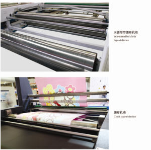 Automatic Magnetic Flat Screen Printing Machine for Polyester Blanket pictures & photos