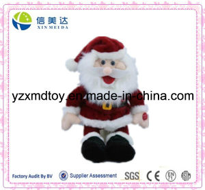 Christmas Singing and Dancing Santa Claus Plush Toy pictures & photos