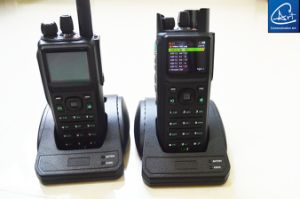 GPS Mapping P25 Digital Handheld Radio with GPS Inform Function in VHF/UHF Band pictures & photos