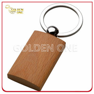 Fancy Design Normal Pattern Good Quality Wooden Keychain pictures & photos