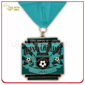 Custom Foot Ball Match Sport Soft Enamel Metal Medallion pictures & photos