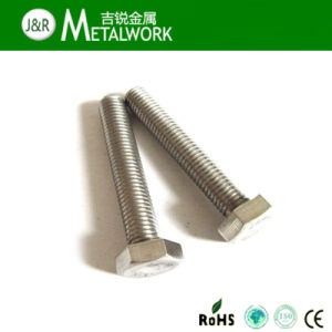 A4-70 Full Thread Hex Bolt pictures & photos