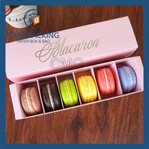 Matt Lamination Pink Printing Macarons Paper Box (CMG-cake box-017) pictures & photos