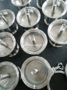 Food Grade Stainless Steel Sanitary Tri Clamped Check Valve pictures & photos