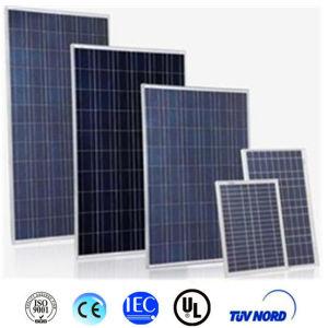 Best Quality 260/270/280/290/300W Poly Solar Panel with CE and ISO pictures & photos