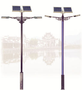 Solar LED Street Light with 30W LED Lamp Size of Tyndld181
