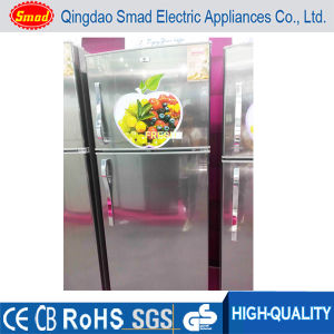 468L Big Size Double Door Home Stainless Steel Refrigerator pictures & photos