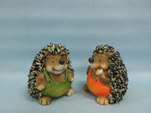 Hedgehog Shape Ceramic Crafts (LOE2537-C11) pictures & photos