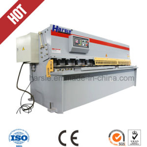 Nc Top Quality Guillotine Design Advanced CNC Hydraulic Shearing Machine pictures & photos