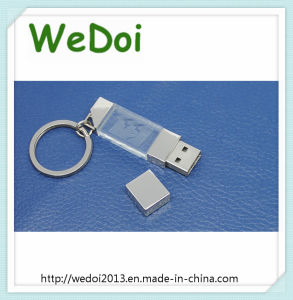 Popular Keychain Crysttal USB Flash Drive (WY-D34) pictures & photos