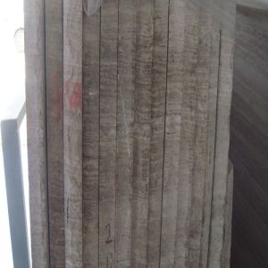 Natural White Wooden Grain Marble Stone Veneer pictures & photos