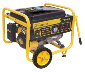 6kw 6000W Copper Wire Portable Electric Power Gasoline Generator (WH7500X) pictures & photos
