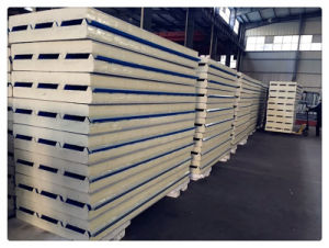 Low Price Wall Roof PU Sandwich Panel Building Material pictures & photos