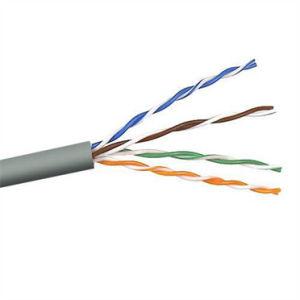 UTP Cat5e Copper CCTV Camera Network Cable (CAT5EU305) pictures & photos