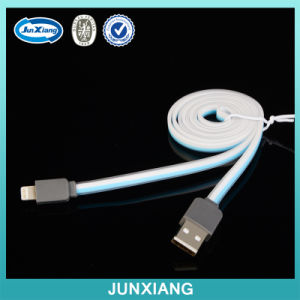Cheap Flat Original 1m Reversible USB Data Wire Cable for Ios Charger pictures & photos