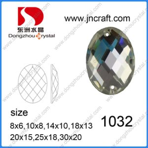 Flat Back Crystal Glass Rhinestone for Shoes Decoration pictures & photos