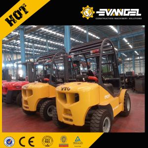 YTO 2.5 Ton Rough Terrain Forklift Truck CPCD25 Fork Lifts pictures & photos