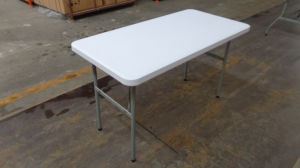 4FT Rectangle Folding Table pictures & photos