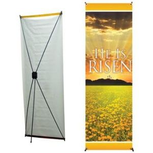 Outdoor X Banner Display / X Banner Stand pictures & photos