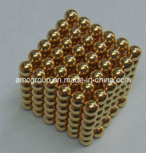 Magnetic Neo Cube 5mm Magnet Made in China pictures & photos