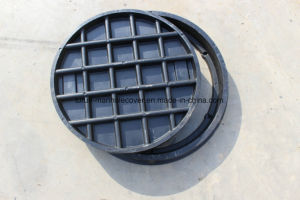 Heavy Duty Manhole Cover C250 Highway Use D600 Round Covers pictures & photos