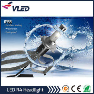 2016 Newest R4 7200/9600lm Automobile LED Headlight Kit 9005 9006 pictures & photos