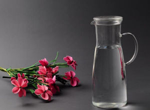 1200ml High Borosilicate Glass Fruit Juice Pot Juice Bottle with Handle pictures & photos
