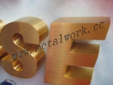 OEM Laser Cutting for Metal Words pictures & photos