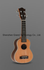 "Grand Guitar / 21"" Red Cedar Mahogany Neck Ukulele (UK-212) pictures & photos"
