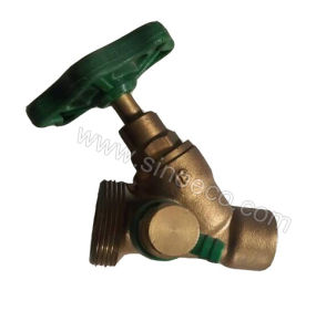 Brass Male Reducing Stop Valve Stop Tap pictures & photos