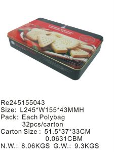 Biscuit Metal Tin pictures & photos
