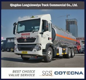 HOWO T5g 6X4 336HP Oil Tank Truck pictures & photos