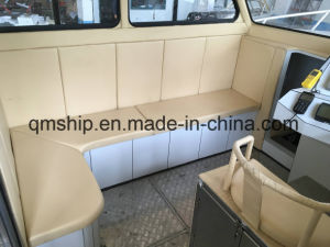 Aluminum Fishing Vessel Center Cabin Boat with Hardtop pictures & photos